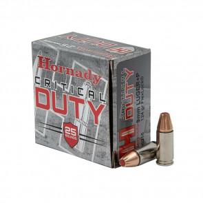FLEXLOCK CRITICAL DUTY 9MM+P LUGER AMMUNITION 125GR - 25 ROUNDS