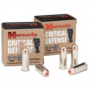 CRITICAL DEFENSE AMMUNITION - 40 S&W, 165 GRAIN, FTX