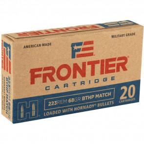 HORNADY 223 REMINGTON 68 GR BTHP MATCH FRONTIER - 20/BOX