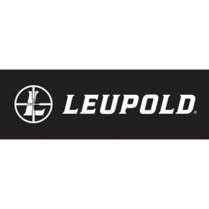 "LEUPOLD DECAL WINDSHIELD 31"" WHITE"