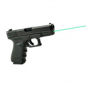 GREEN GLOCK GUIDE ROD LASER - GEN 1-3 MODEL 19, 23, 32, 38