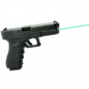 GREEN GLOCK GUIDE ROD LASER - GEN 1-3 MODEL 17, 22, 31, 37