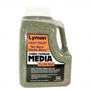 LYMAN TURBO CASE CLEANING MEDIA - 6 LB 'EASY POUR CONTAINER'
