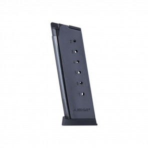 COLT OFFICER'S 1911 MAGAZINE - 45 ACP, 7 ROUNDS W/PLASTIC REMOVABLE BUTTPLATE & FOLLOWER