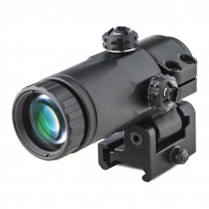 X3 MAGNIFIER WITH INTEGRATED TACTICAL SIDE FLIP ADAPTOR