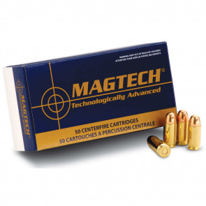 MAGTECH AMMUNITION  SPORT SHOOTING AMMUNITION - 9MM LUGER, 124 GRAIN, FULL METAL JACKET