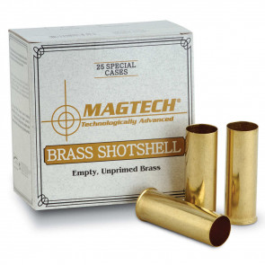 SHOTSHELL BRASS CASES 20GA 25RD/BX