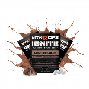 HOT IGNITE TRAIL SUPERCHARGED ENERGY & FOCUS - CHARGED COCOA