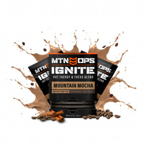 HOT IGNITE TRAIL SUPERCHARGED ENERGY & FOCUS - MOUNTAIN MOCHA