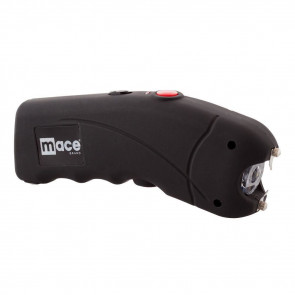 HIGH VOLTAGE STUN GUN WITH BRIGHT LED - BLACK