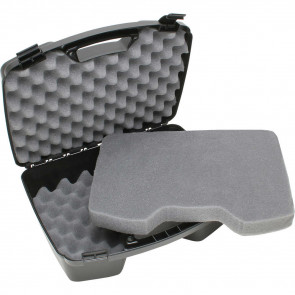 SINGLE LATCH 4-HANDGUN CASE - BLACK