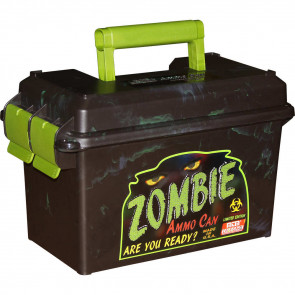 AMMO CAN 50 CALIBER - BLACK/ZOMBIE GREEN