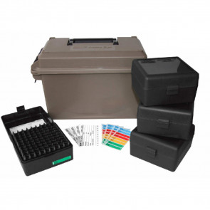 AMMO CAN 223 COMBO - 400 ROUNDS, DARK EARTH