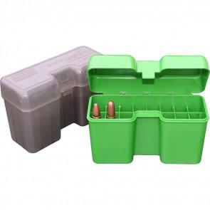 HINGED LNG MAG AMMO BOX 22RD - GREEN