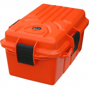 SURVIVOR DRY BOX 10X7X5IN ORANGE