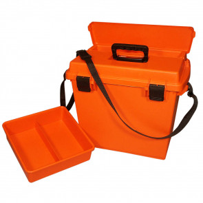 SPORTSMENS UTIL DRY BOX XLG - ORANGE