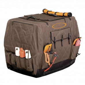 DIXIE INSULATED KENNEL COVER - BROWN, L-EXTENDED