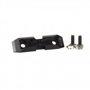 MLOK LOW PROFILE BIPOD ADAPTER BLACK