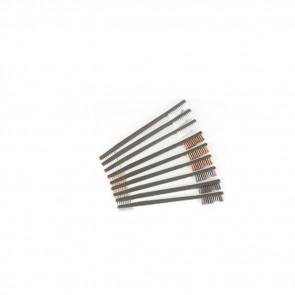 9 PACK AP BRUSHES - 3 NYLON, 3 BRONZE, 3 STAINLESS STEEL