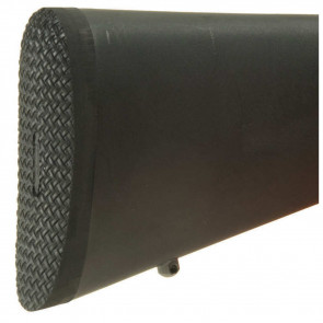 500B PRESENTATION RIFLE PAD - BLACK, BLACK BASE, SMALL, .040""
