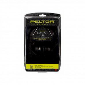 PELTOR SPORT TACTICAL 300 ELECTRONIC HEARING PROTECTOR, 1/PACK
