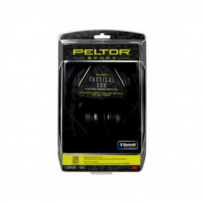 PELTOR SPORT TACTICAL 500 ELECTRONIC HEARING PROTECTOR, 1/PACK