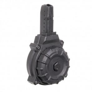 AR-15 9MM GLK STYLE 50 RD DRUM BLACK MAG