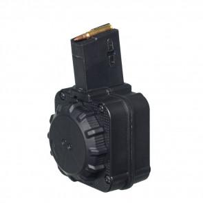 AR-15 MAGAZINE - 5.56 MM (65) ROUND DRUM BLACK POLYMER