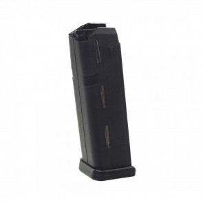 GLOCK MODEL 17, 19, 26 MAGAZINE - 9MM (10) RD , BLACK POLYMER