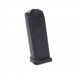 GLOCK MODEL 19 MAGAZINE - 9MM, 15RD, BLACK POLYMER
