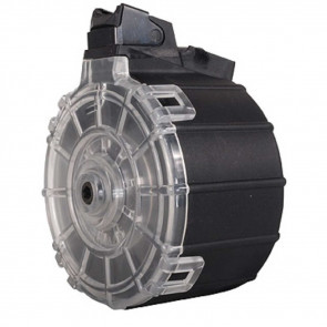 SAIGA SHOTGUN DRUM MAGAZINE - 12 GAUGE - 10 ROUND - POLYMER - BLACK