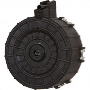 SAIGA DRUM MAGAZINE - .410 BORE - 30 ROUND - POLYMER - BLACK