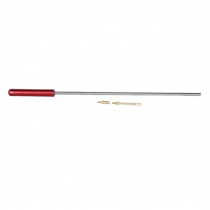 """MICRO-POLISHED STAINLESS STEEL CLEANING ROD - 12"""" PISTOL .270 CAL. & UP"""