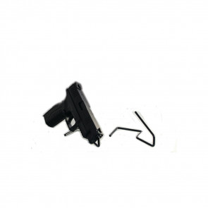 FREE STAND PISTOL DISPLAY - 10 PACK