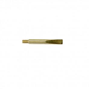 SMALL BRASS SCRAPER - 8-32 THREADS