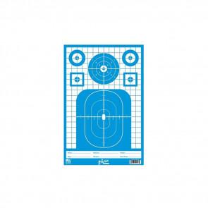 12X18 TAC PREC TGT PIST/RIF/SHOT HVY 8PK