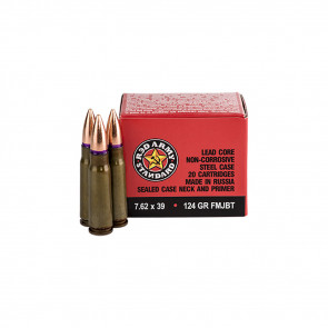 RED ARMY STANDARD - 7.62X39MM - 20/BX