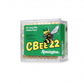 CBEE 22® AMMUNITION - 22 LONG RIFLE, HOLLOW POINT, 33 GR, 100/BX