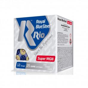 """ROYAL BLUESTEEL SUPER MGN 40 AMMUNITION - 12 GAUGE, 3 1/2"""", SHOT SIZE: 3, 1 3/8 OZ., 25/BX"""