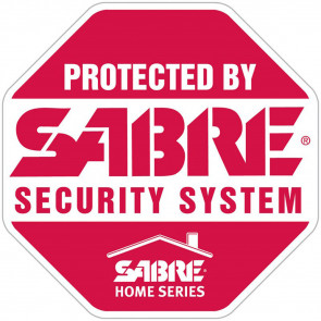 SABRE WINDOW SIGN - 22.5IN X 17IN