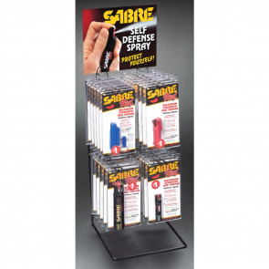 2-TIER 4-PRONG DISPLAY RACK - 36PC
