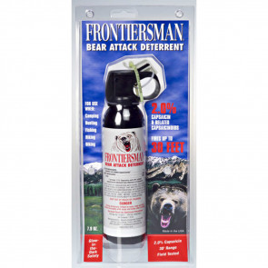 FRONTIERSMAN BEAR SPRAY 7.9 OZ WITH PRACTICE SPRAY