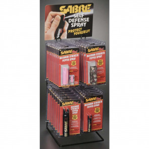 SABRE RED COMPLETE PKG DISPLAY - 48PC
