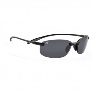SERENGETI SPORT NUVOLA SUNGLASSES, SHINY BLACK, POLARIZED
