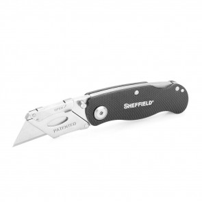 ULTIMATE LOCK BACK UTILITY KNIFE - BLACK