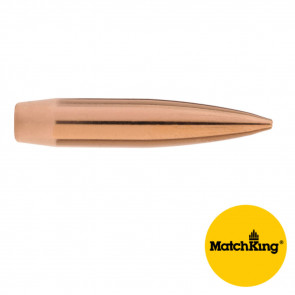 MATCHKING RIFLE BULLETS - 6.5MM .264 CALIBER, 142 GR., HPBT, 100/BX