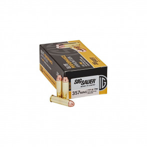 ELITE PERFORMANCE AMMUNITION - 357 MAG, 125 GR, 50 ROUNDS