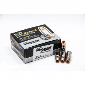 PISTOL V-CROWN ELITE AMMUNITION - 357 MAG, 125 GR, 20 ROUNDS