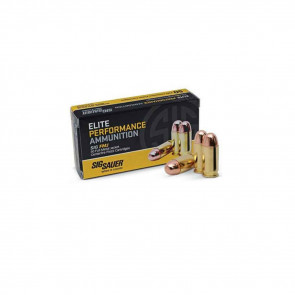 PISTOL ELITE BALL AMMUNITION - 38 SUPER, 125 GR, 50 ROUNDS