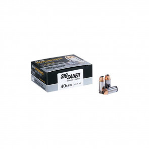 PISTOL V-CROWN ELITE AMMUNITION - 40S&W 165 GR, 20 ROUNDS